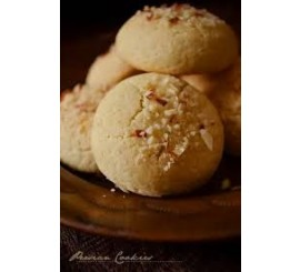 Rice Flour Coconut Cookies